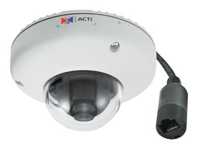 ACTi E922M, 10MP Outdoor Mini Dome, Network Surveillance Camera