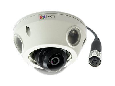 ACTi E933M, 2MP Video Analytics Outdoor Mini Dome, Network Surveillance Camera