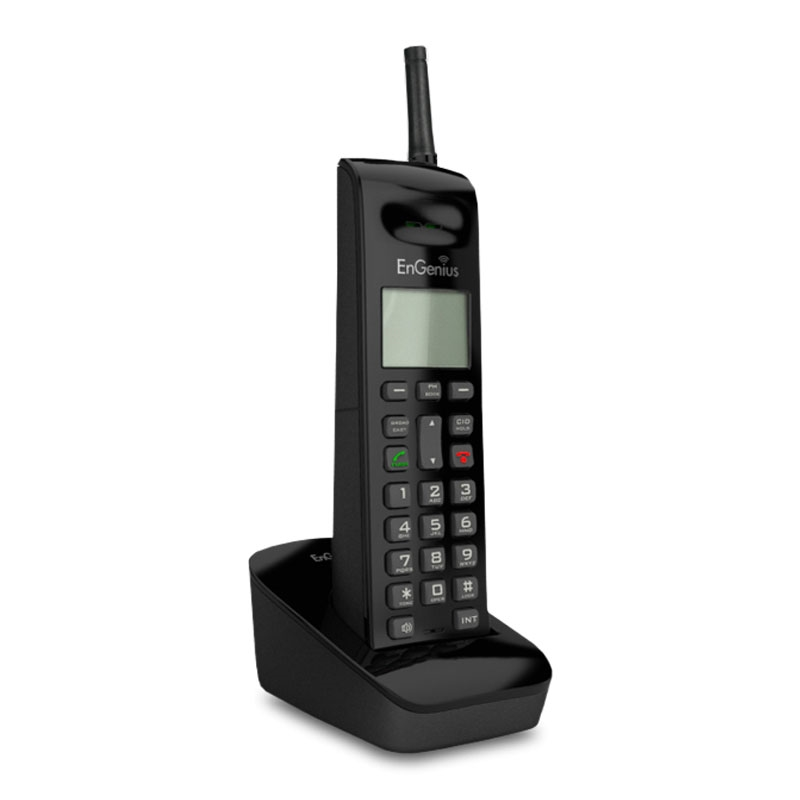 2 Handset Long Range 900 MHz Cordless Telephone System NEW EnGenius FreeStyl 2