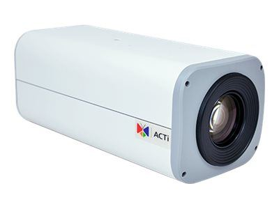 ACTi I24, 1MP Zoom Box, Network Surveillance Camera