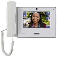 Aiphone IX-MV7-HW IP Master Station with Handset, White