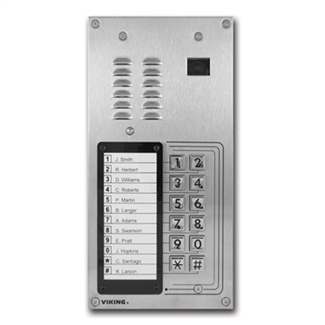 Viking K-1205 Entry Phone with Camera & Keypad