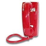 Viking K-1500P-W Phone in Red