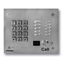 Viking K-1705-3-EWP Video Entry Phone with Keypad