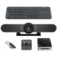 Logitech MeetUp with Intel Nuc, Standard Kit