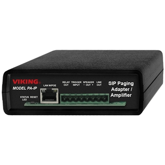 Viking PA-IP Paging Adapter & Amplifier