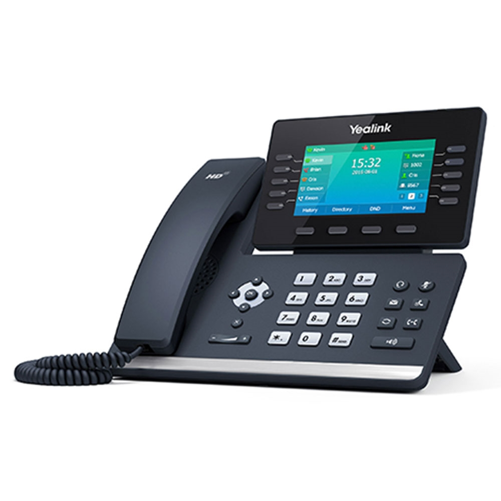 Yealink sip t54s 16 line business media ip phone built in for Sips price