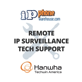 Hanwha Techwin IP Surveillance Tech Support
