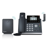 Yealink W41P Wireless IP Phone Bundle
