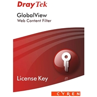 DrayTek License Key for GlobalView Web Content Filter