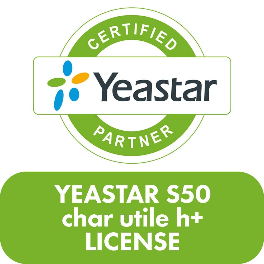 Yeastar S50 char utile h+ License - YST-S50-CHAR