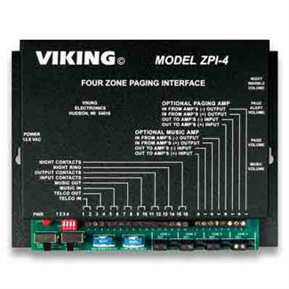 Viking ZPI-4 Four-Zone Paging Interface