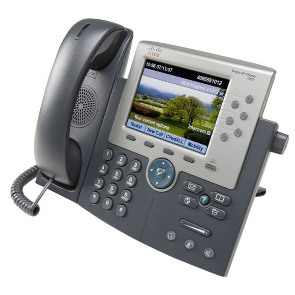 Cisco 7965G 6-Line VoIP Phone - cp-7965g