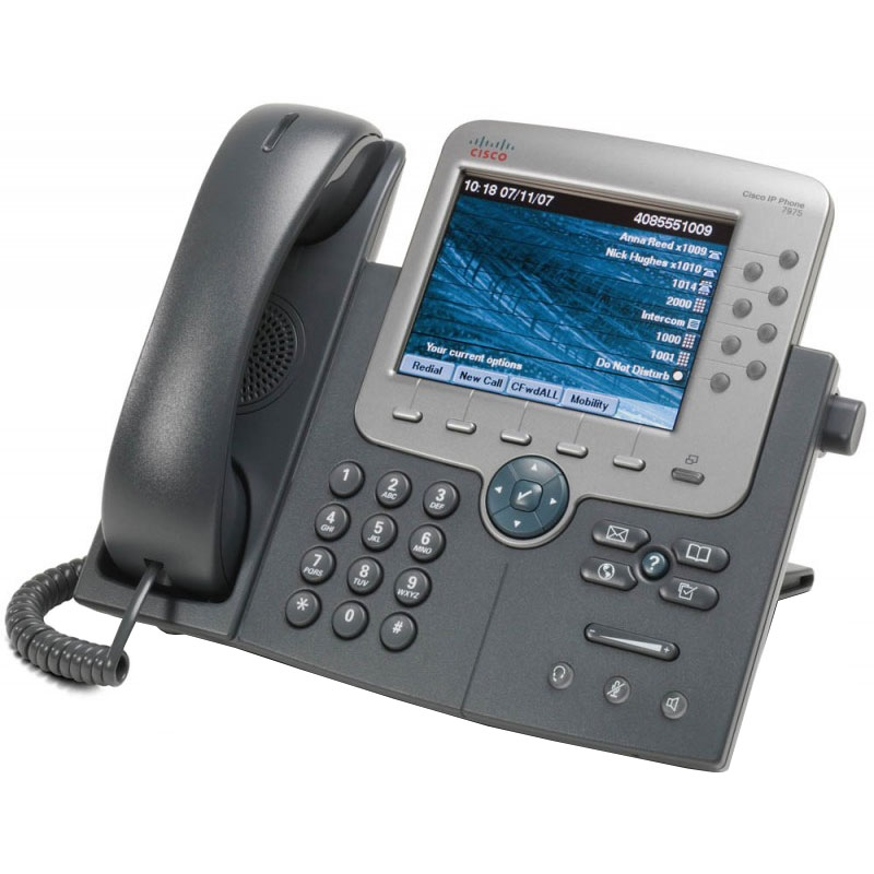 Cisco 7975G 8-Line VoIP Phone - cp-7975g