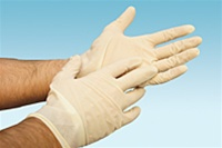 Gloves, Medium (Latex, 100/box)