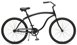 ABC Heavy Duty Mens Cruiser Bike - Black