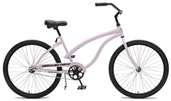ABC Heavy Duty Womens Cruiser Bike - Lavender