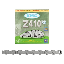 KMC Rust Buster 1/2x1/8 Z410RB 1 Speed 112LChain