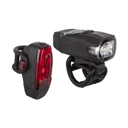 Lezyne KTV Drive Cycling Light Pair Black