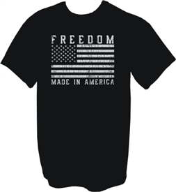 Freedom Made in America Patriotic T-Shirt
