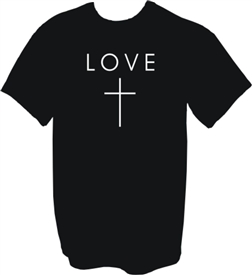 The Cross is Love Christian T-Shirt