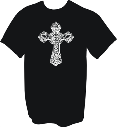 Wings Within Cross Christian T-Shirt
