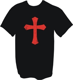 Red Christian Cross 102 T-Shirt