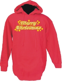 Merry Christmas Believe Christian Pullover Hoodie Sweatshirt
