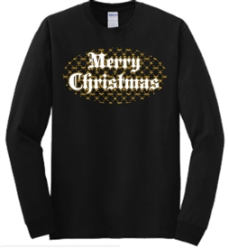 Merry Christmas Believe Long Sleeve Christian T-Shirt