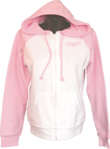 Cross Ladies Christian Zipper Hoodie Sweatshirt