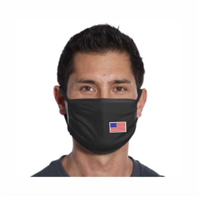 Patriotic USA Flag Face Cover Mask