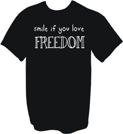 Smile If You Love Freedom T-Shirt