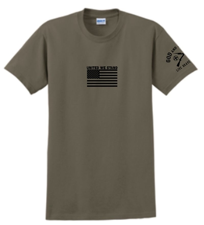 United We Stand Flag Patriotic T-Shirt