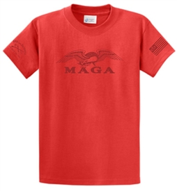 Make America Great Again Patriotic T-Shirt Red