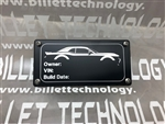 Billet Technology Signature ID Plate
