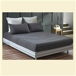 Bamboo Collection, 100% cotton, 300 thread count fitted sheet, California King, for Std Mattresses