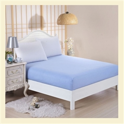 Bamboo Collection, 100% cotton, 300 thread count fitted sheet, Full , for Std Mattresses