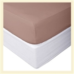 Bamboo Collection, 100% cotton, 300 thread count fitted sheet, Full XL, for Std Mattresses