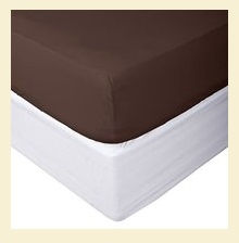 Bamboo Collection, 100% cotton, 300 thread count fitted sheet, for Standard Mattresses