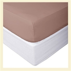 Premier Collection, 100% cotton, 600 thread count fitted sheet, Full XL, for Standard Mattresses
