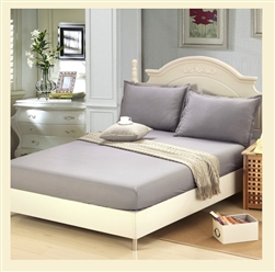 Premier Collection, 100% cotton, 600 thread count fitted sheet, Queen, for Standard Mattresses