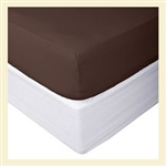 Premier Collection, 100% cotton, 600 thread count fitted sheet, Tiwn XL , for Standard Mattresses