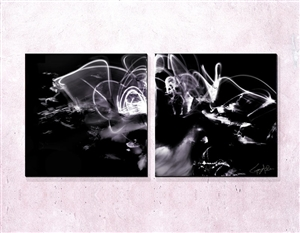 Laid to Rest Diptych Chris Adler
