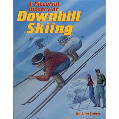 Pictorial History of Downhill Skiing Book Signed by Author