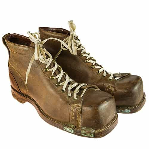 1940s 10th Mountain Division Vintage Ski Boots