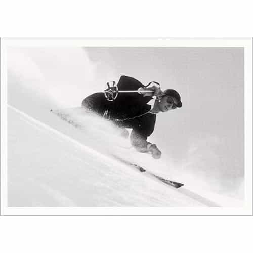 Dick Durrance Skiing Aspen Mountain Greeting Card