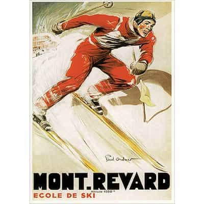 Mont Revard Greeting Card