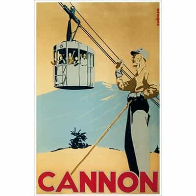 Cannon Postcard