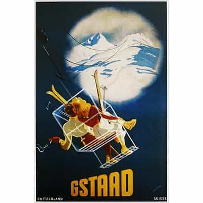 Gstaad Switzerland Postcard