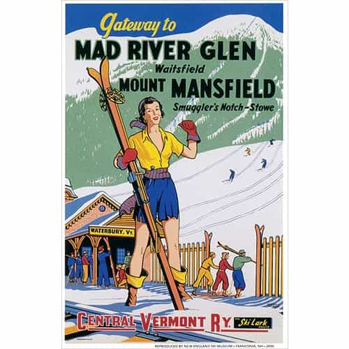 Mad River Glen Postcard